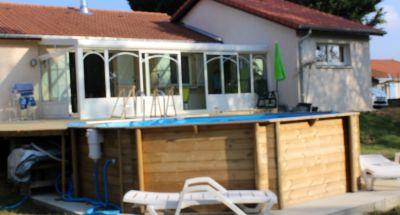 Création d'une véranda et garage en Isère
